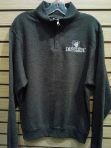 Unique sweatshirt in gray with Brandywine Battlefield logo.  $45 S-XL, $50 2XL.